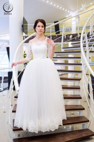 Свадебное платье Мия фатин