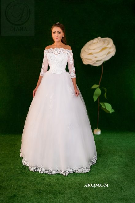 Свадебное платье Людмила