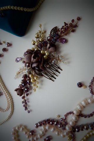 Фиолетовый гребень