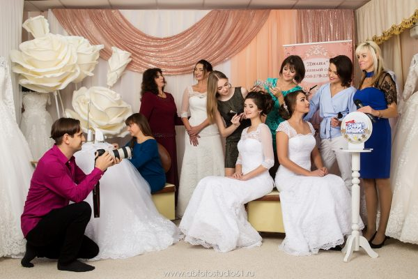 Фото Марафон «Знай наших!» Свадебный салон Диана Таганрог